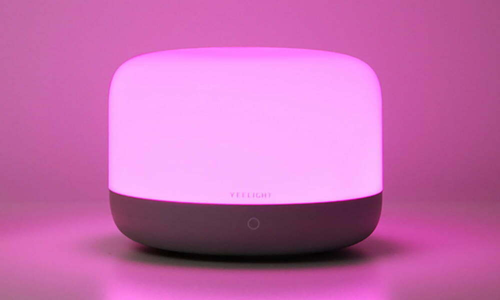 Yeelight LED Bedside Lamp D2 pink
