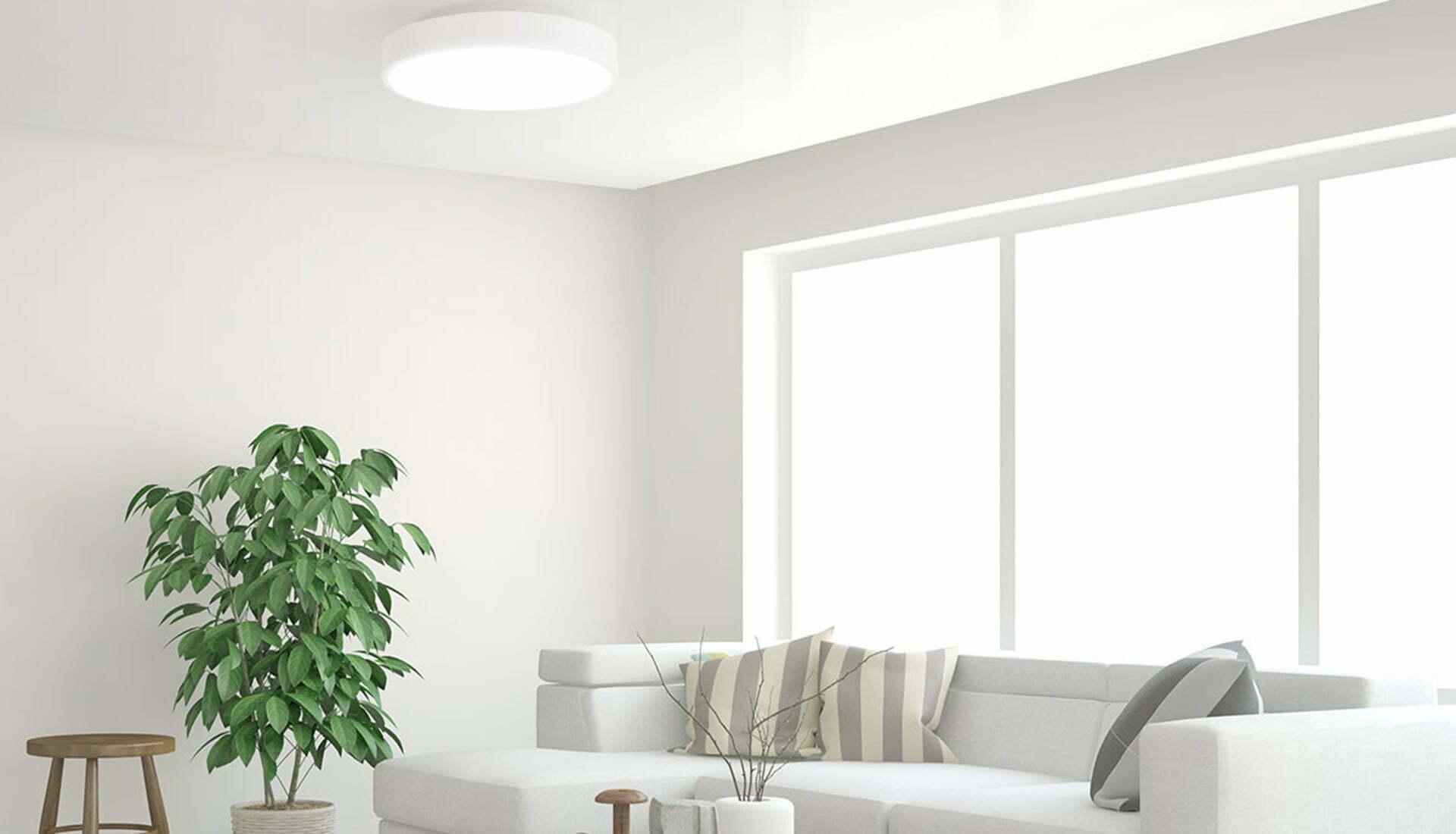 Yeelight LED Ceiling Light v pokoji