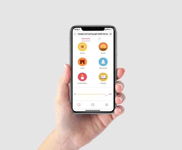 aplikace v telefonu